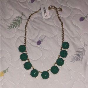 J,.Crew green necklace 💚✨🎉